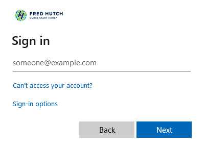 Sign in to MyHutch with your HutchNet ID